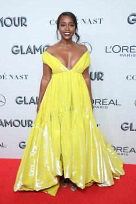 Aja Naomi King on Glamour Women Of The Year Awards 2019 red carpet