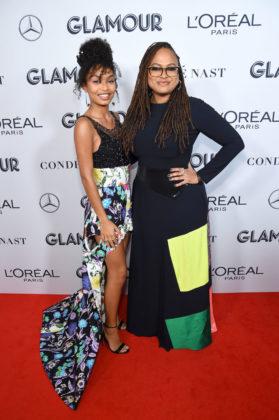 Yara Shahidi and Ava DuVernay at Glamour Women Of The Year Awards 2019