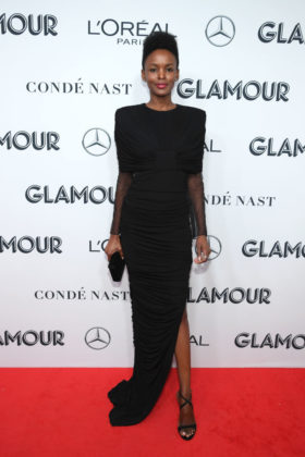 Flaviana Matata on Glamour Women Of The Year Awards 2019 red carpet