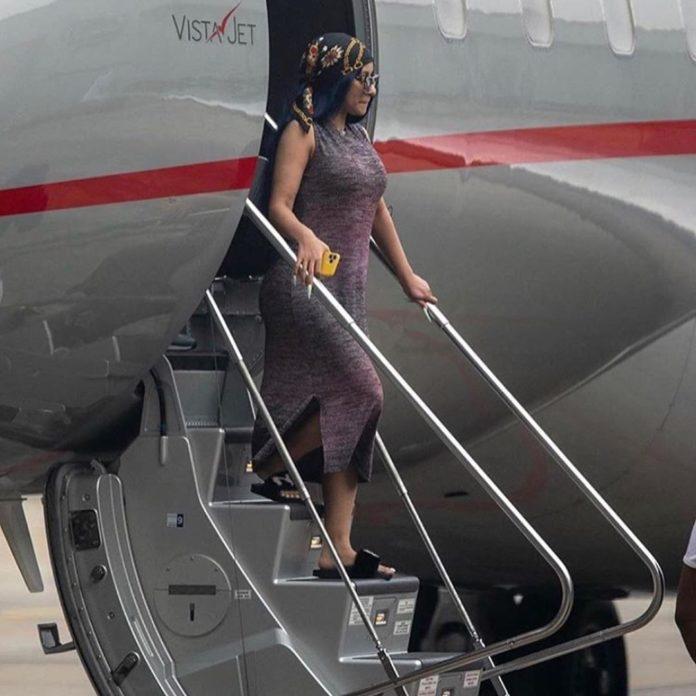 Cardi B Arrives In Nigeria