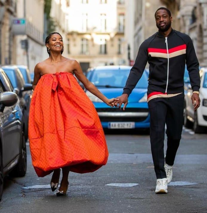 Gabrielle Union And Dwyane Wade Take Paris Fashion Week In Style