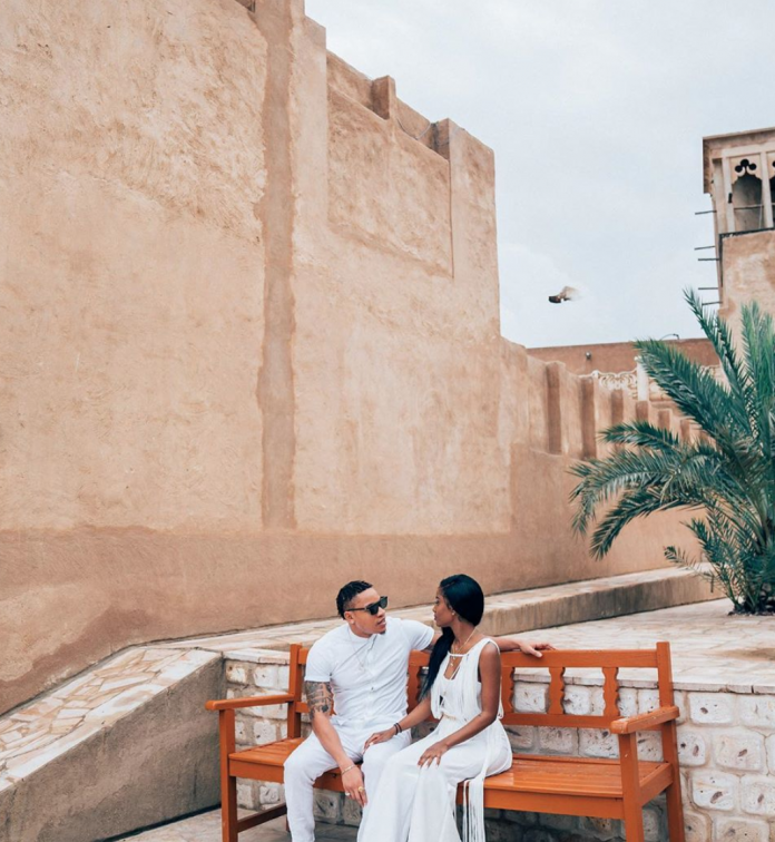 Rotimi And Vanessa Mdee Take A Fun-Filled Baecation To Dubai