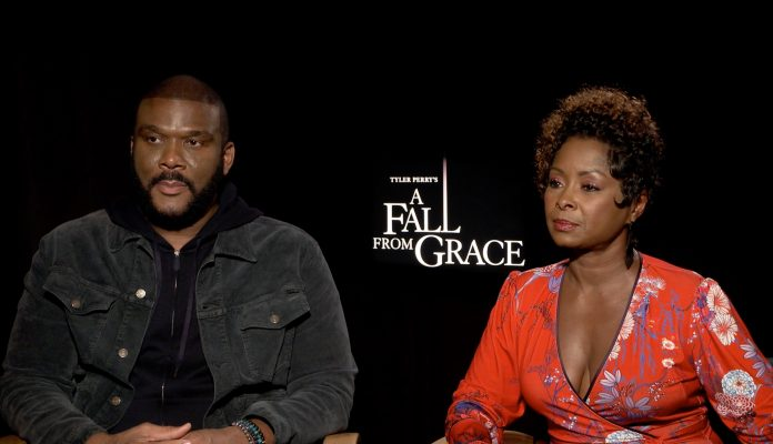 Tyler Perry & The Cast Of 'A Fall From Grace' Share Their Thoughts On Betrayal