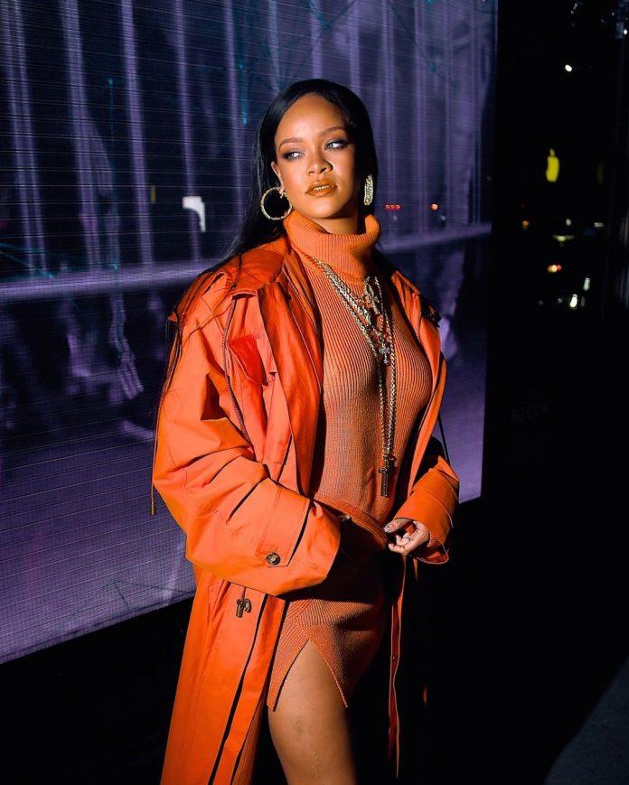 Rihanna at New York Fashion Week