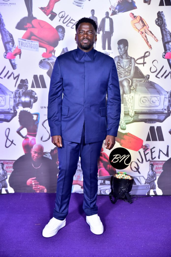 """Daniel Kaluuya & Melina Matsoukas Attend The Lagos Premiere Of """"Queen and Slim"""""""