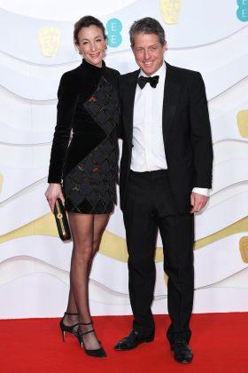 Hugh Grant and Anna Eberstein
