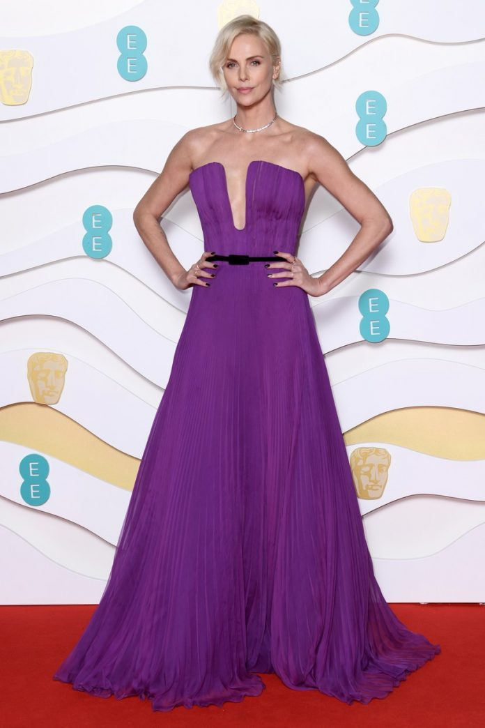 Charlize Theron at British Academy Film Awards 2020